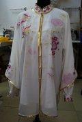 刺繍表演服/八種:紗衣付き(花&蝶)