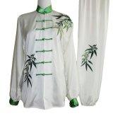 極細つや消し/竹刺繍表演服