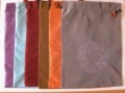 画像4: 袋付き/本皮太極拳シューズ/白・黒