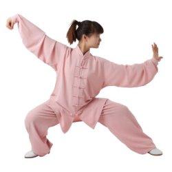 画像2: 高級衣装袋付き:さらさらリネンタイプ/中国式上下
